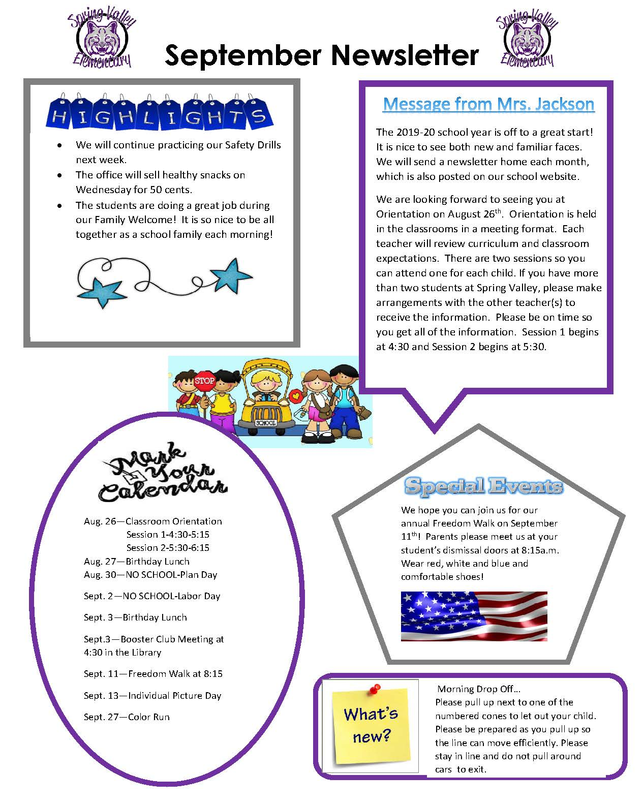 Picture of September Newsletter